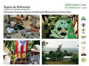 Pasado, Presente y Futuro, Soberanía alimenticia en Puerto Rico